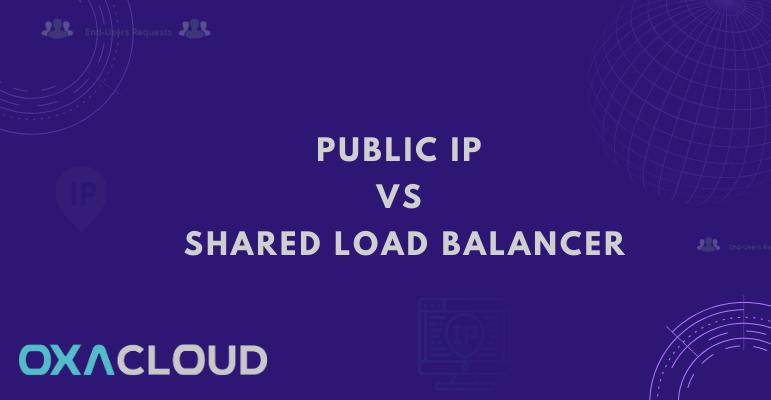IP publique Vs équilibreur de charge partagé (Shared Load Balancer)
